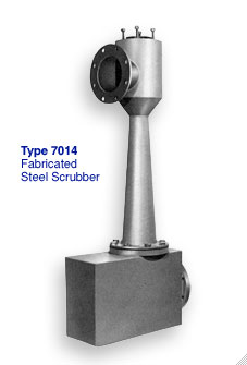 Figure 7014 fabricated steel Scrubber